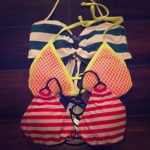 3 bikini tops!